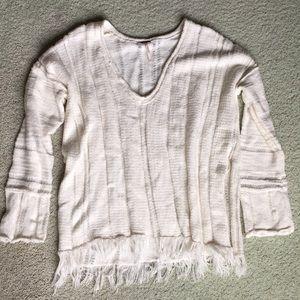 NWOT Free People v neck sweater